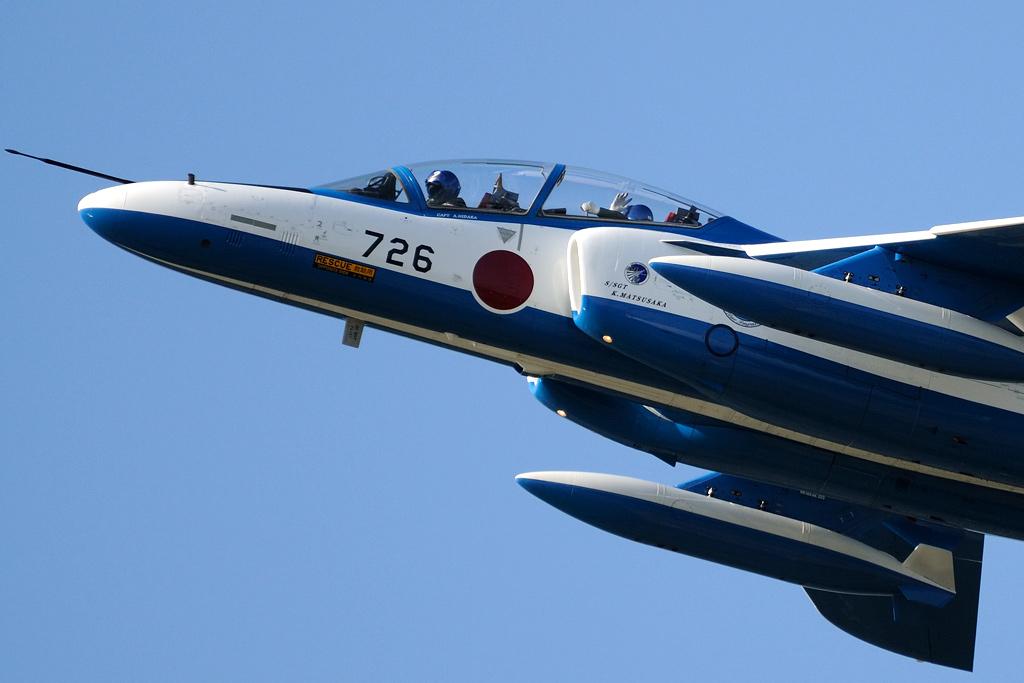 T-4 ブルーインパルス 2番機