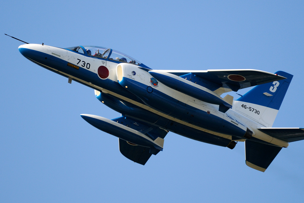 T-4 ブルーインパルス 3番機