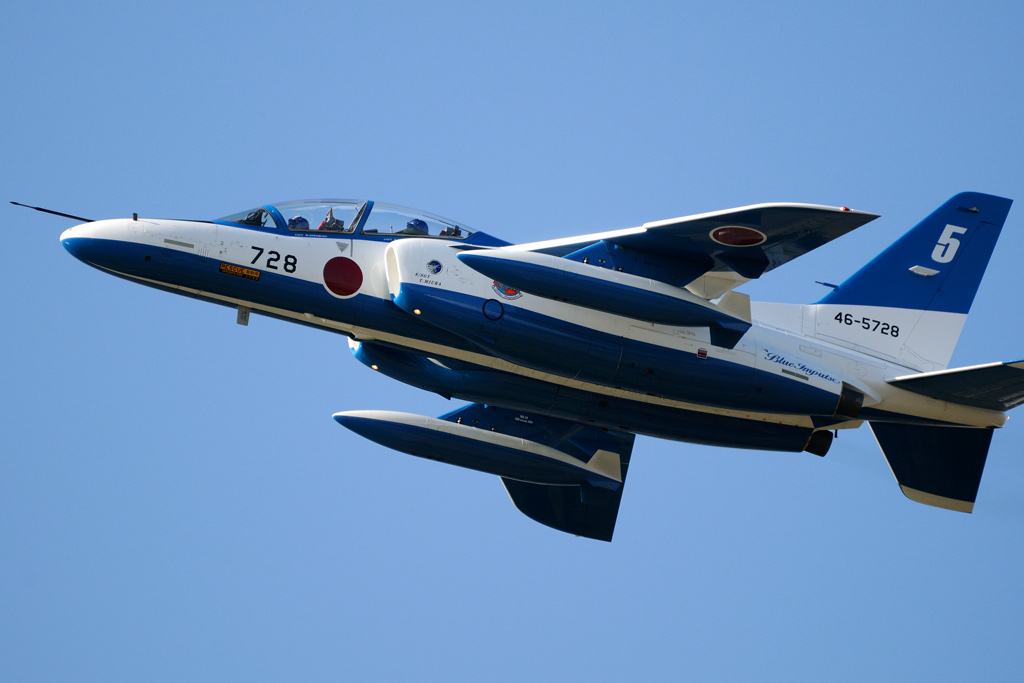 T-4 ブルーインパルス 5番機