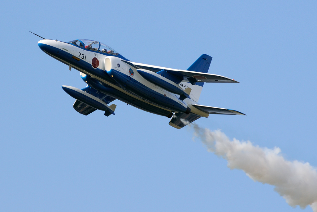 T-4 ブルーインパルス 無番機