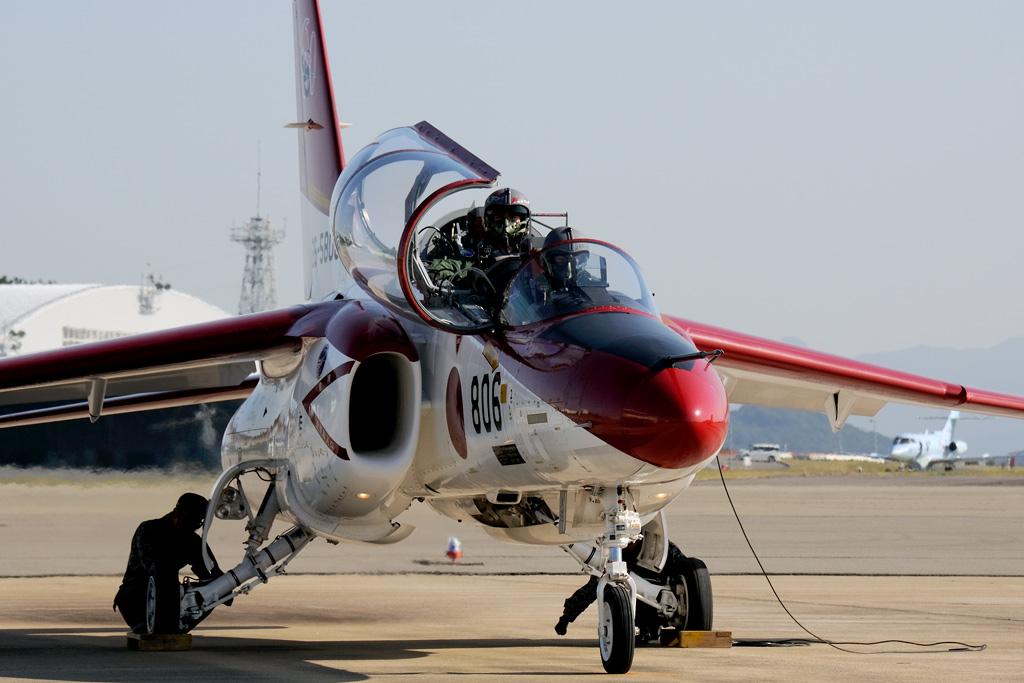 航空自衛隊創設60周年 芦屋基地 第13飛行教育団 第2飛行教育隊 記念塗装機 離陸準備