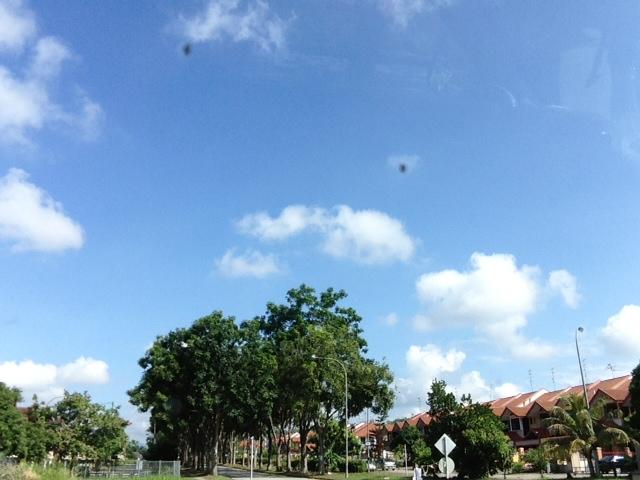 マレーシア住宅街