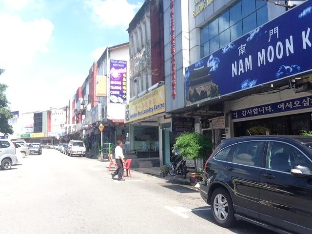 マレーシア街並み