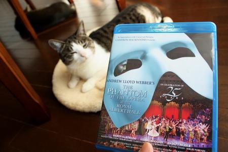 「オペラ座の怪人 25周年記念公演 in ロンドン」BDジャケット