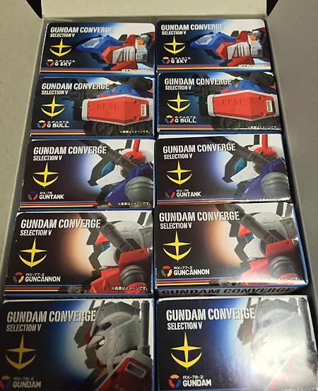 FW GUNDAM CONVERGE SELECTION V BOX(10個入) セブンイレブン限定