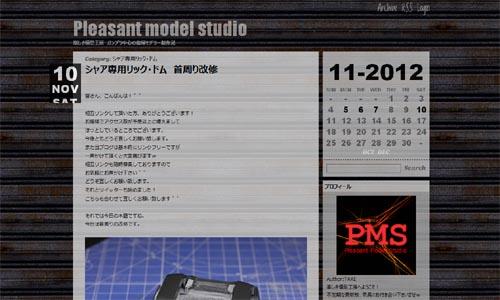 Pleasant model studio