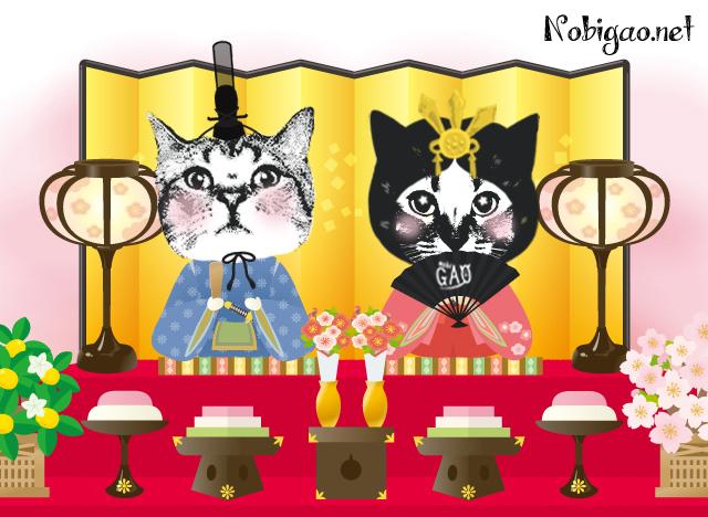 Nobigao ひな祭り