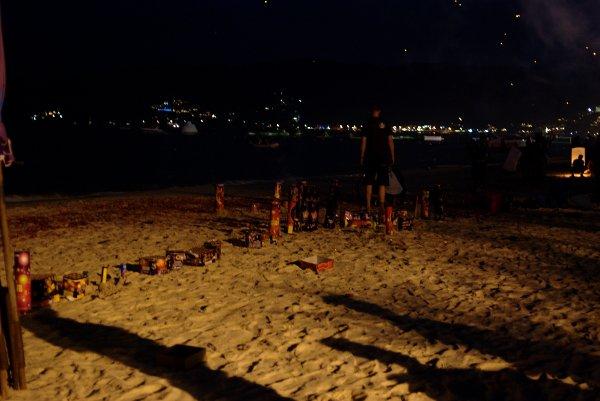 プーケット -大晦日のパトンビーチ-
