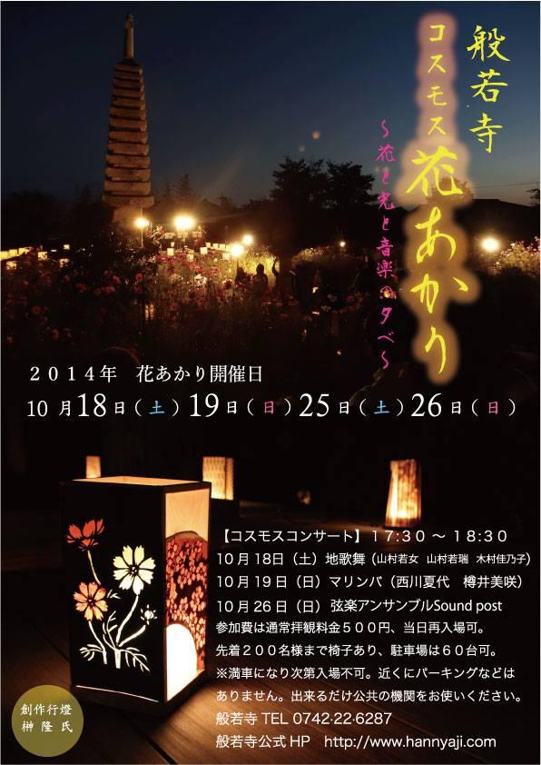 般若寺花あかりコンサート・2014