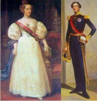 マリア二世とフェルナンド