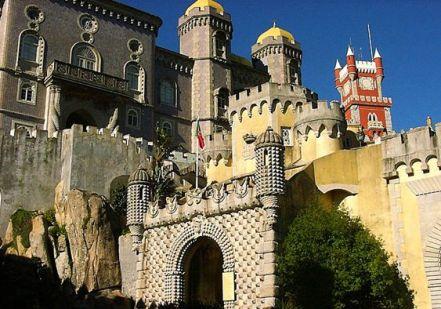 ペーナ宮殿入口