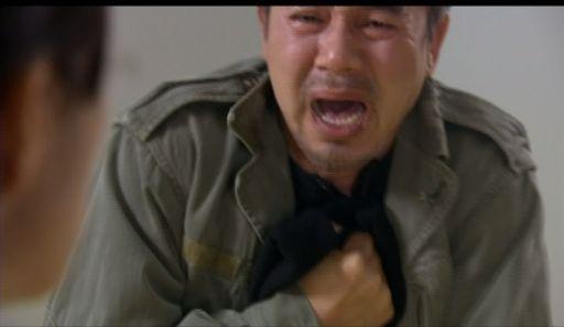 強力班1107 号泣するチョ・サンテ (ベテランの演技はすごい、泣かせるぜ)